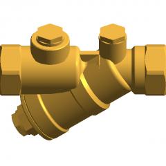 Check valve DN20 revit family