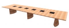 主机矩形18FT FLARED Table Revit系列