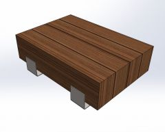 Coffee table ind.SLDPRT file
