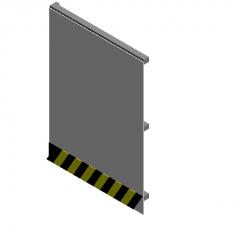 Construction fence revit model