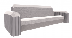 Fabric gray Couch revit family