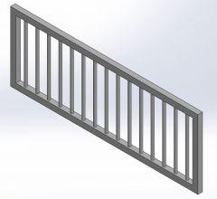 Cradle fence.SLDPRT file