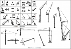 Crane CAD collection