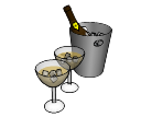Cups and wine skp