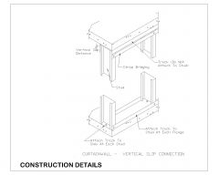 Curtain Wall Bridging & Bracing with Technical Details .dwg-27