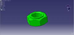 DIN EN ISO 4032 - M03, 0-8.catpart