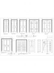 Door Elevation Design for Wood & Formica_1 .dwg