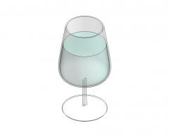 飲むガラスRevit家族