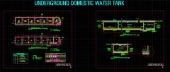 UNDERGROUND DOMESTIC WATER TANK
