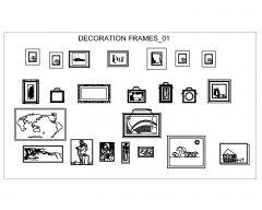 Decoration Frames .dwg-1