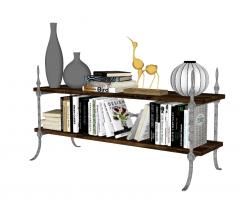 Decoration book shelf skp