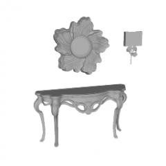 装飾テーブルSKP