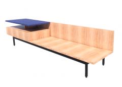Denizen Bench with Shelf and Drawer revit model