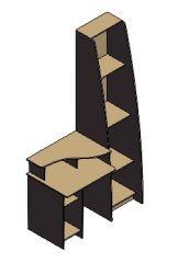 Desk-7 Solidworks Model