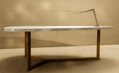 Desk Lamp with small black shade revit family