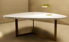 Golden Desk Lamp  revit family