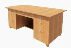 Desk Office with drawer revit family
