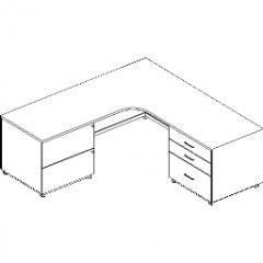 Schreibtischregal Revit
