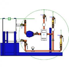 Digital Boiler Water To Water Revit