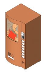 Revit Family Equipment Soda dispenser