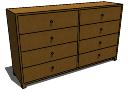 Dresser_Modern skp