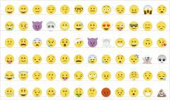 Colección de emojis CAD dwg blocks