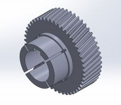 Engranaje maquina de peluches 4 .SLDPRT file