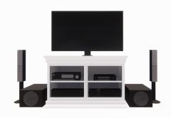 Entertainment center on living room revit family