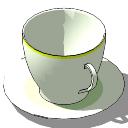 浓咖啡杯子skp