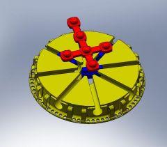 Expelling mechanism sldasm Model