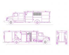 Fire Brigade Vehicle -2