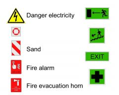 Fire Protection symbols & signs-1