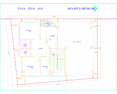 FLOOR PLAN (42' X30') .dwg drawing