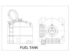 金属或钢制燃油箱.dwg