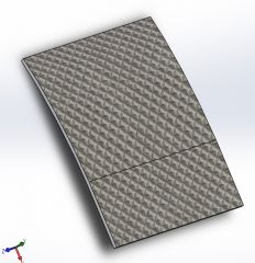 Face Plate Solidworks model