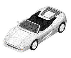 Revit Family 3d Car Ferrari Spider