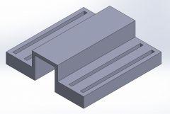 Filament base support C.SLDPRT file