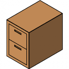 File Cabinet Fire Insulated Revit
