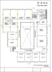 First floor plumbing layout Autocad drawing