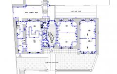 Chateau francés dwg encuesta CAD