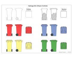 ごみ箱(廃棄物管理)