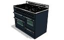Horno a gas (6 quemadores) con grill y horno a vapor skp