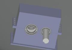 Gearbox DWG Model