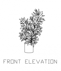 Green Plant for Balcony 9 dwg Drawing