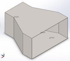 HVAC reducer Solidworks part