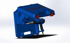 Haartrockner Modell in Solidworks