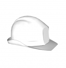 Hard Hat Sketchup model