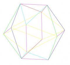 Шестиугольная модель 3D DWG