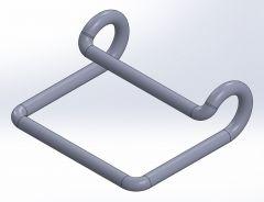 Hook closed.SLDPRT file