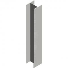 H-shaped steel column revit family